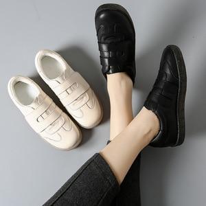 Image 4 - PEIPAH الربيع جلد البقر أحذية نسائية غير رسمية Zapatos Mujer النساء أحذية رياضية Zapatillas Deportivas Mujer إمرأة أحذية مشي