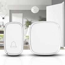 Garden Bell IP44 Waterproof Wireless Doorbells Outdoor Doorbell 36 ringtones 0-100 decibels 4 Volume Levels