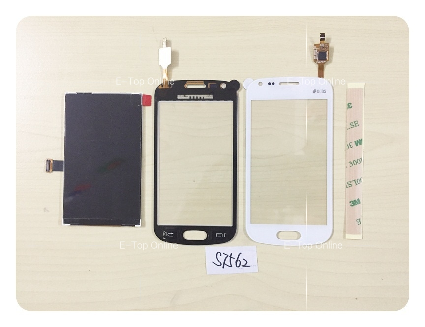 For Samsung Galaxy S Duos S7560 S7562 LCD Display Screen + Touch Screen Digitizer Sensor Replacement LCD Screen + tracking