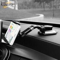 KISSCASE Suporte Do Telefone Do Carro Universal Ajustável Titular Do Dashboard Para iPhone 8 X Samsung GPS Do Telefone Móvel Suporte Ventosa Suporte