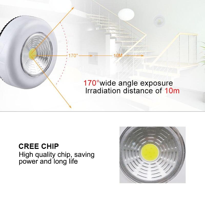 Touch Sensor Control Led Under Cabinet Lights Energe Saving Bathroom Wardrobe Lamp For Colest Cupboard Kitchen Night Light Lights & Lighting