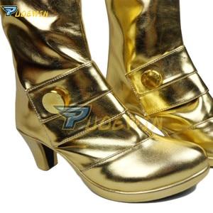 Image 3 - Fate stay Night Fate/Extra CCC Saber nero, ботинки для косплея, обувь на заказ