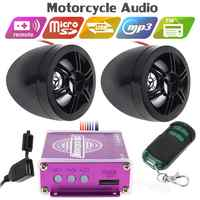 12V 50W Display Screen Motorcycle Anti-theft Sound MP3 Music Player Universal 12V Motorbike Security Alarm System