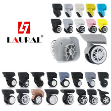 Custom Hardware Casters Luggage Caster Accessories Wheel Repair Trolley Travel Lock