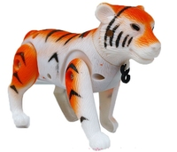 Children S Toys Gift Electric Little Tiger Around The Zebra Electric Little Tiger Walking Around Pile