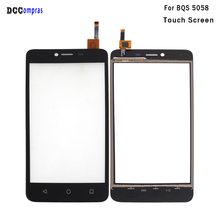 For BQ BQS 5058 Touch Panel Screen Digitizer Sensor Replacement For BQS 5058 Mobilephone Accessories Free Tools