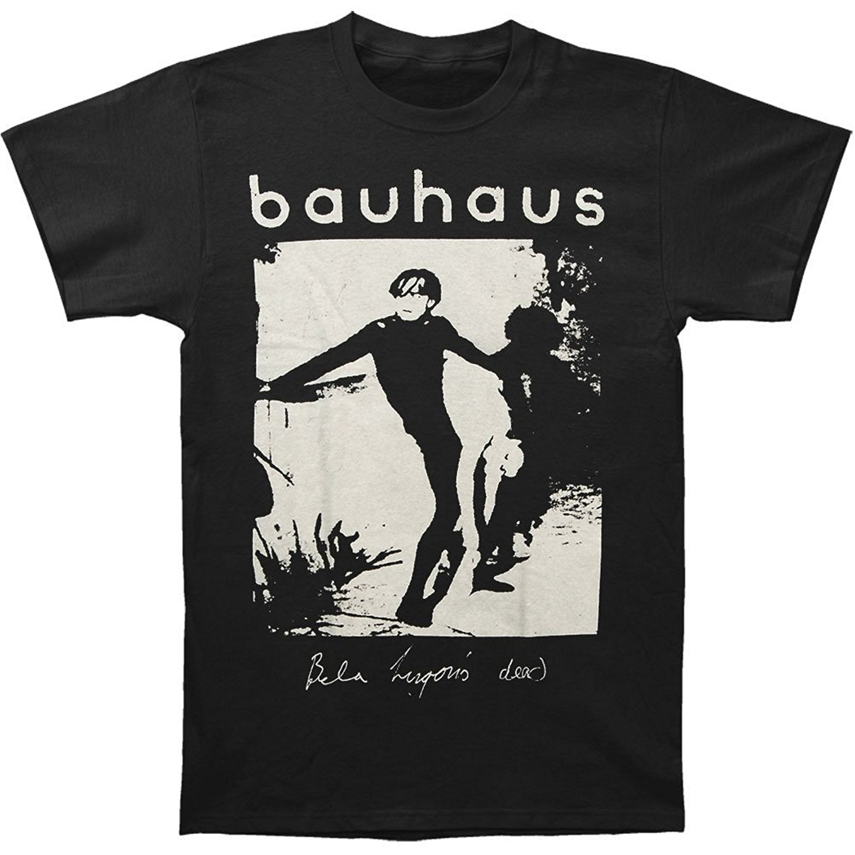 New Bauhaus Mask Gothic Punk Rock Band Men 39 S Black T