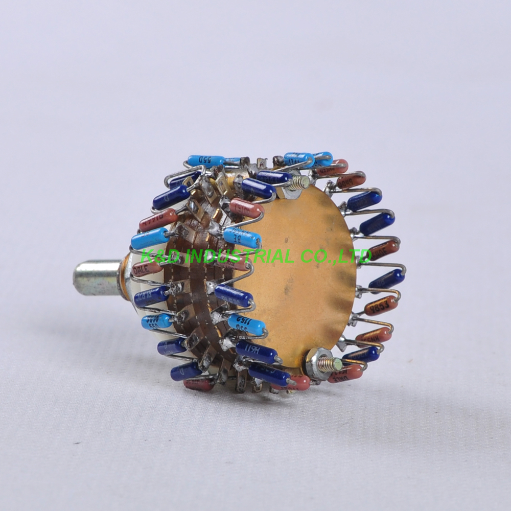 Official Website Wh148 250k 254 Three Feet 15mm Handle Long Horizontal B250k Single Potentiometer 15mm with Screws Handle Length