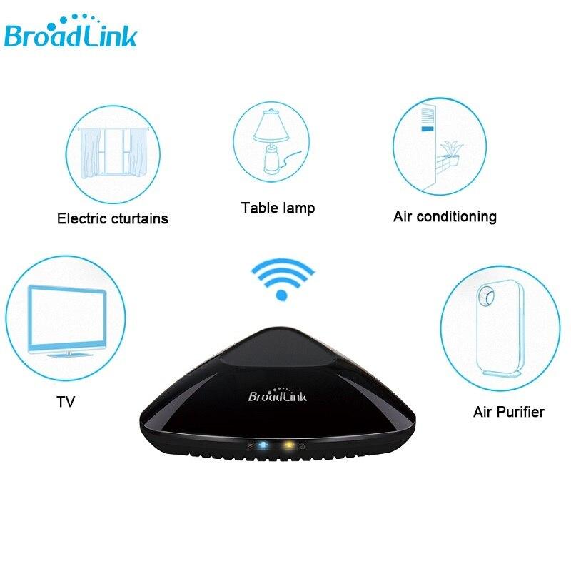 2018 Newest Broadlink Rm Pro+ Wifi Universal Remote Control Smart Hub For Xiaomi Iphone IR RF 433mhz 315mhz Compatible Alexa цена и фото
