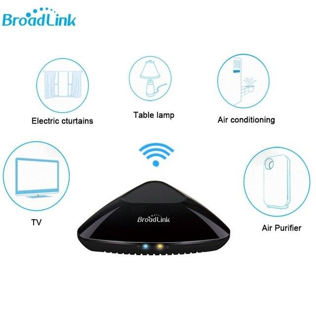 Thông minh Broadlink RM Pro + RM33 Wifi Điều Khiển Từ Xa Đa Năng Thông Minh Trung Tâm Cho Xiaomi IPhone IR RF 433 315 Mhz Tương Thích alexa Google Home