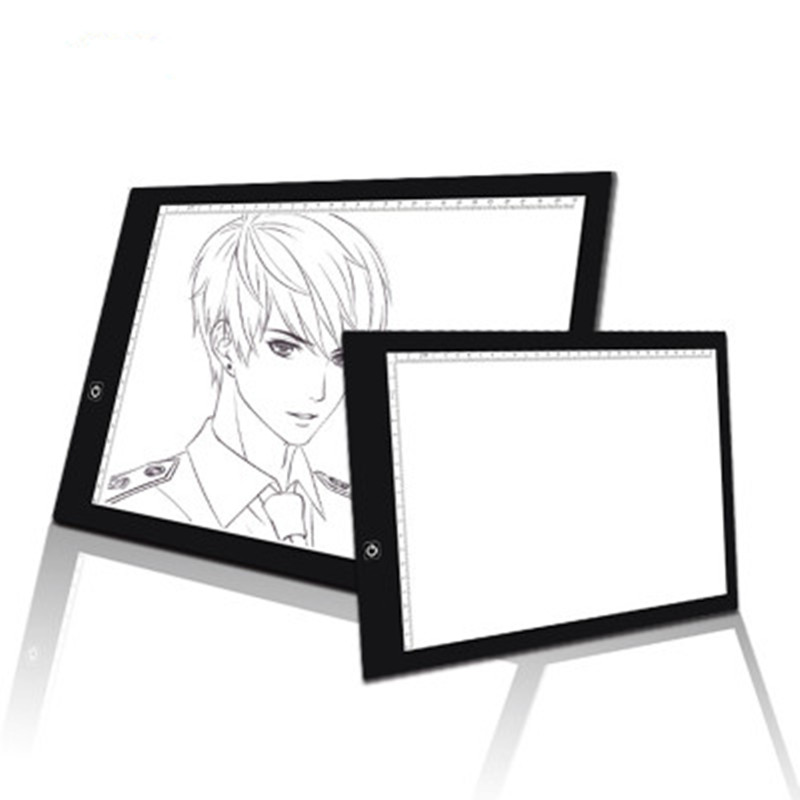 Portable A4 LED Light Box Board Tracing Copy Pad Drawing Painting Digital Tablet Portable A4 LED Light Box Board Tracing Copy Pad Drawing Painting Digital Tablet