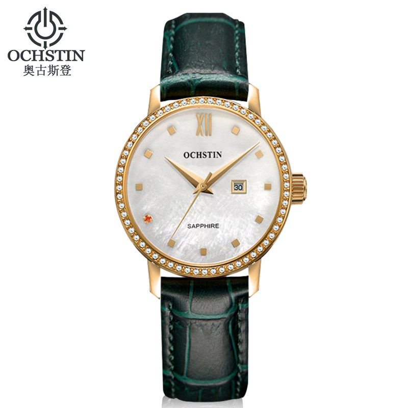 Ladies Watches Women Luxury Brand Ochstin 2017 Women's Dress Wristwatches Reloj Mujer Female Clock Quartz-watch Montre Femme A luxury brand women diamond quartz watch ladies female dress wristwatch rotatable dial watche s montre femme relojes mujer
