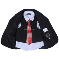 Rushed Real Boys Blazer Jacket Four Piece Classic Polyester Baby Boy Suit Designer Suits Boys Formal Texudo
