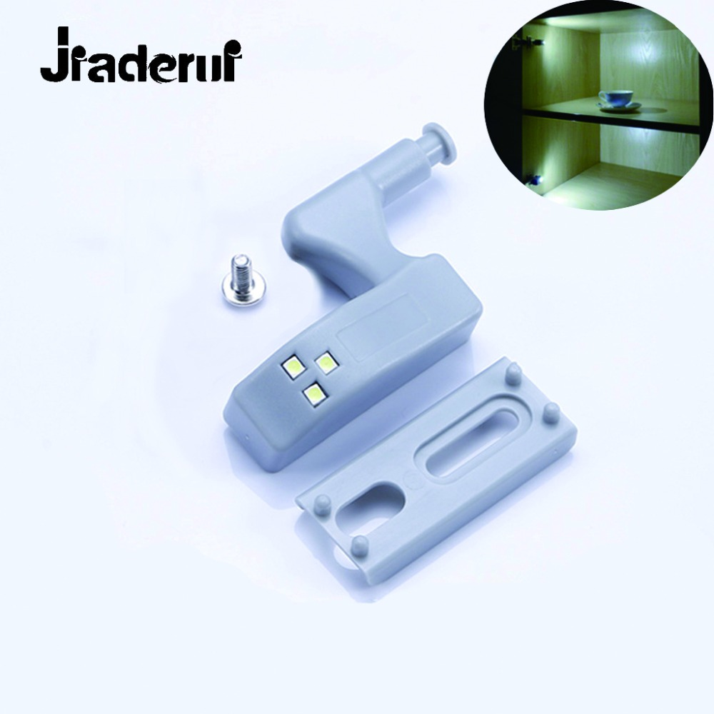 Jiaderui Sensor Inner Hinge Practical Night Lamp 0.25W Be Used for Kitchen Cabinet Wardrobe Cupboard Closet Lighting Night Light