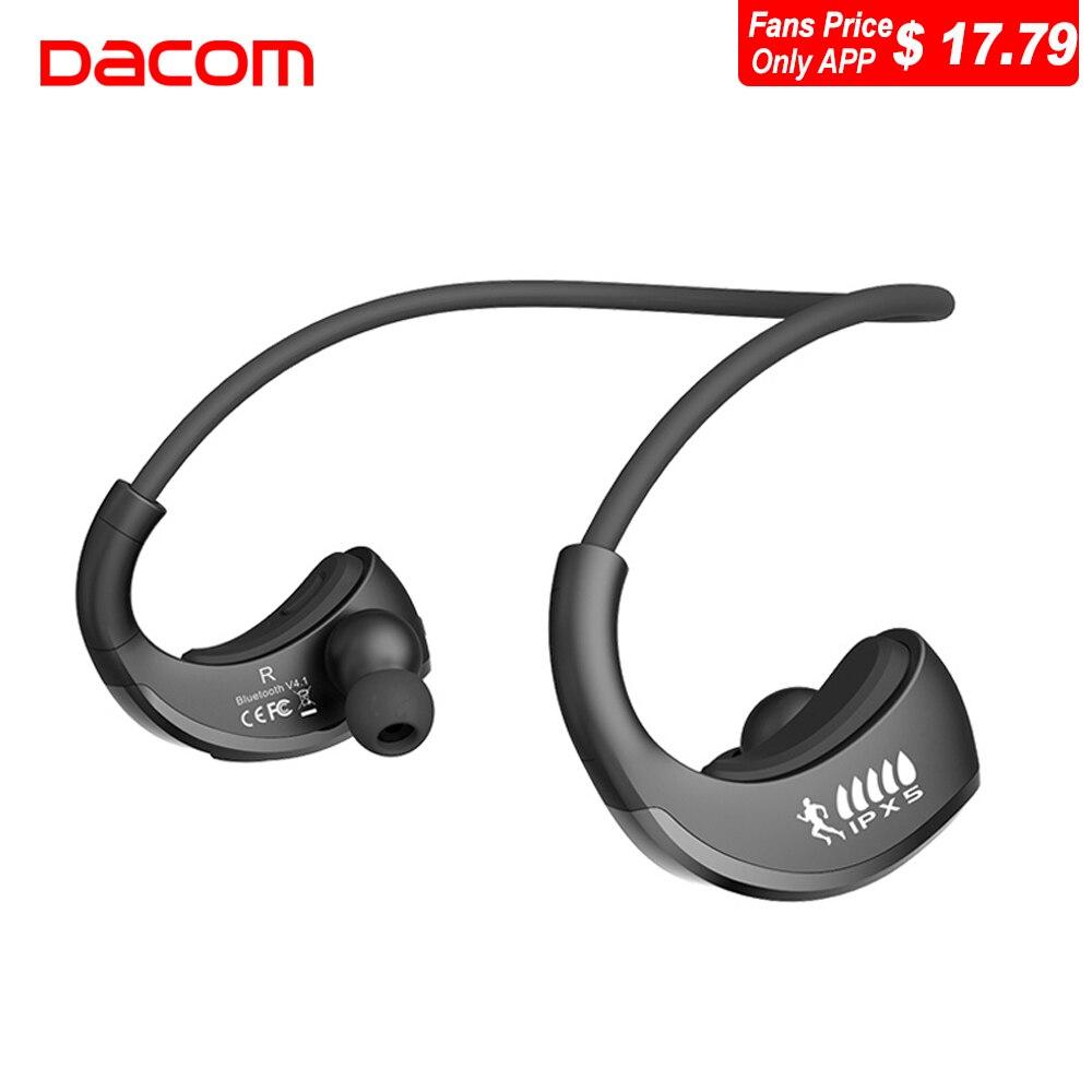 DACOM G06 L05 Musica Auricolari Bluetooth Senza Fili Per Cuffie Super Bass Senza Fili Sport Auricolare con Il Mic per il Telefono Android iphone 8