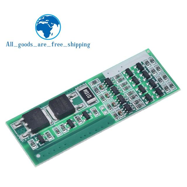 TZT  4S 8A Polymer Li-ion Lithium Battery Charger Protection Board For 4 Serial 4pcs 3.7 Li-ion Charging Protect Module BMS