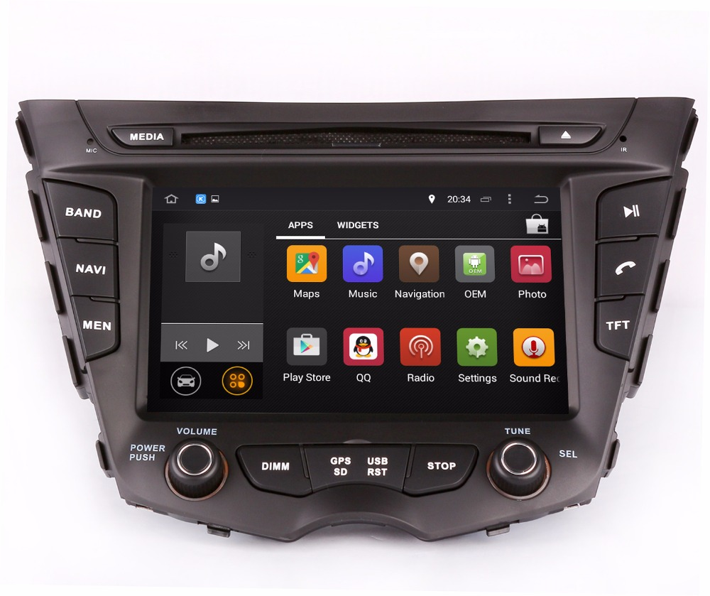 Android 7 1 Head Unit Car Dvd Player For Hyundai Veloster