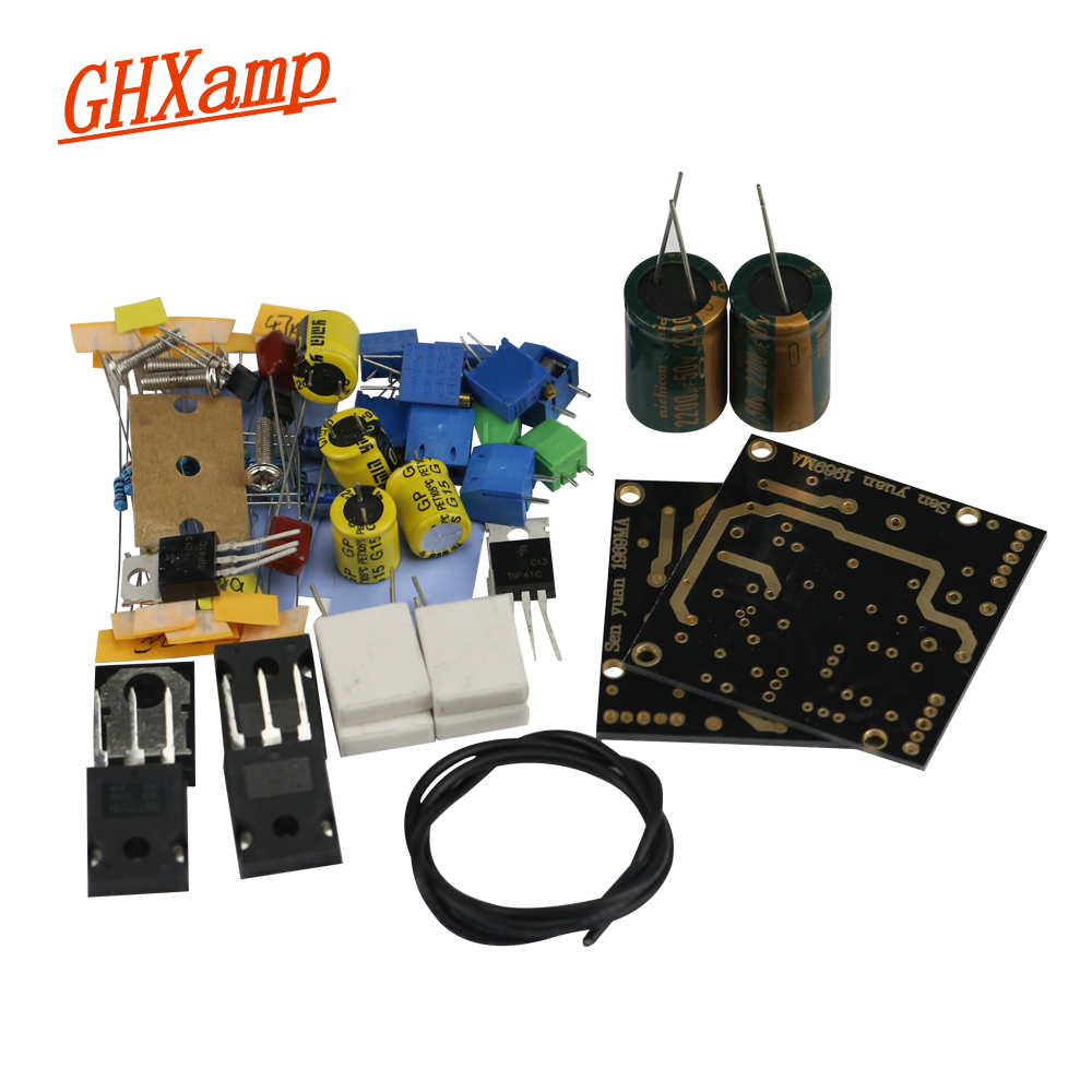 Ghxamp Newest 1969M FET Pre-bile Amplifier Board 1969 IRF250 Tube Amplifier Board Bile Dual Channel UHC-mos DC15-60V 1Pairs