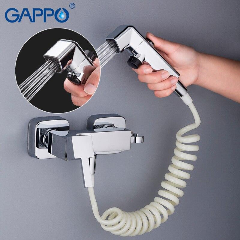 GAPPO Bidets bathroom toilet shower bidet portable bidet mixer tap muslim shower wall mount Spray Shattaf gappo bidets toilet shower bidet toilet seat muslim shower toilet wall mount bidet shower set