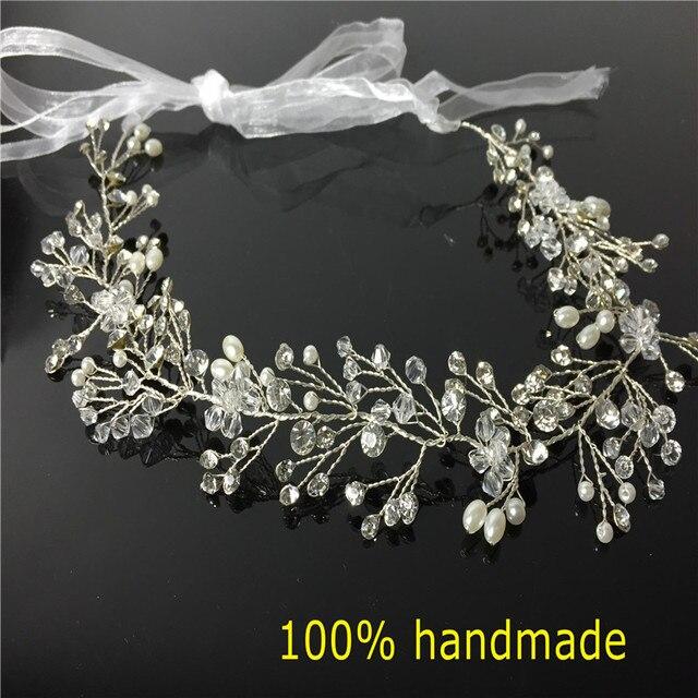 Gorgeous Crystal Bridal Headband Wedding Rhinestone Headbands Hair ...