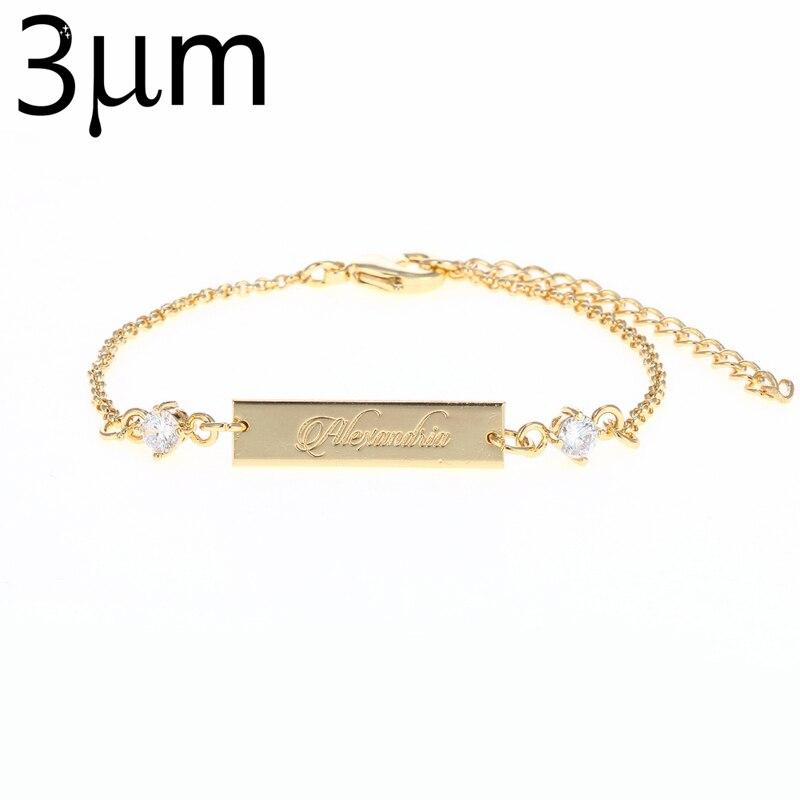 3UMeter Crystal Baby Bracelet Gold Color 25*6 mm Bar Personalized Custom Name Engraved Bracelet Graduation Gift Jewelry for Etsy3UMeter Crystal Baby Bracelet Gold Color 25*6 mm Bar Personalized Custom Name Engraved Bracelet Graduation Gift Jewelry for Etsy