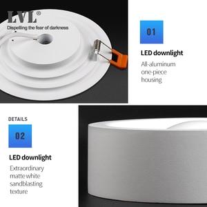 Image 4 - Surface Mounted LED Downlight for Living room, Bedroom, Kitchen, Corridor, Bathroom, AC 85v 265v Anti dazzle Recessed Spot light
