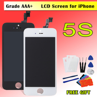 1pcs Display For IPhone 5 5c 5s LCD Screen Digitizer Assembly Replacement No Dead Pixel Pantalla