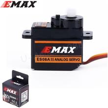 Emax 9g alta sensível mini sub micro servo es08a 8g es08 3d rc avião helicóptero es08md es08ma mg90s