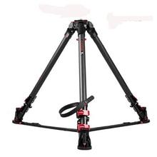 IFOOTAGE Wild Bull T5 Aluminum Legs Skilled Tripod for Video Digital camera 88 lbs/40kg max load capability