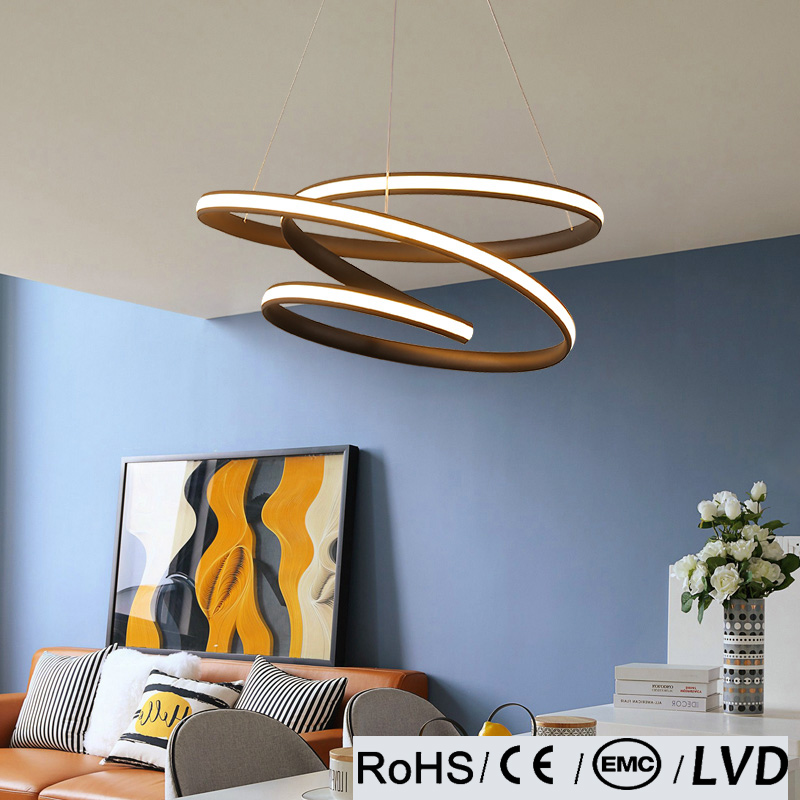 LICAN Modern led Pendant Light for Kitchen Dining Room Living Room Suspension luminaire Hanging Black Pendant Lamp Fixtures lican dining living room modern led pendant light 3 heads aluminum hanging lamps home deco led pendant lamp brightness dimmable