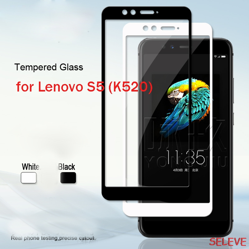 Tempered-Glass Screen-Protector Protective-Film Lenovo S5 For Full-Cover 9H Explosion-Proof