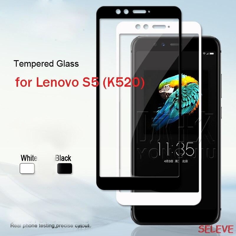 Lenovo S5 Tempered Glass For Lenovo S5 Full Cover 9H Protective Film Explosion-proof Screen Protector For Lenovo S5 K520