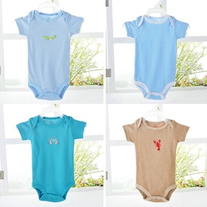 Image 5 - Hooyi Baby bodysuits Short Sleeve 100% Cotton body bebe jumpsuit baby clothes months baby girl bodysuits Summer