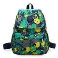 Moda mulheres impressão Sacos De Escola Para Adolescentes mochila Embossing senhora casual sacos mochila da escola da menina jovem