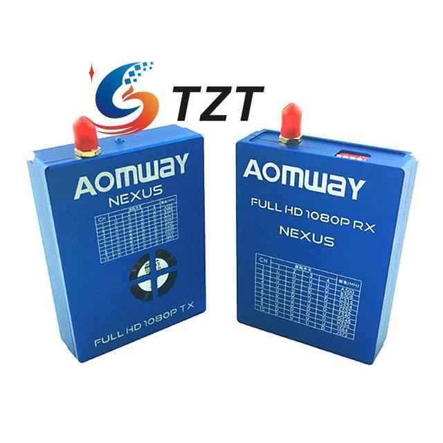 Aomway nexus transmisor receptor 1080 p full hd digital tx rx para fpv quadcopter drone