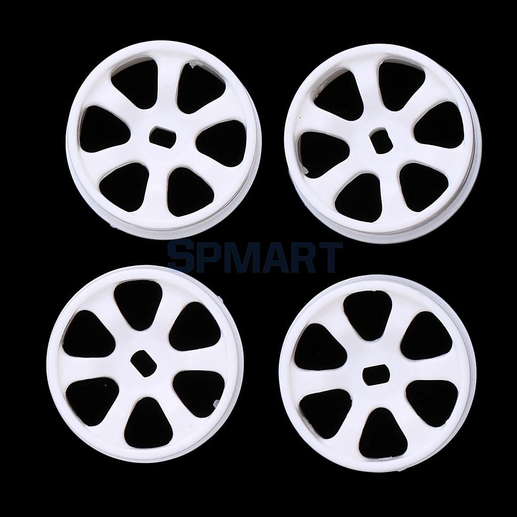 4Pcs Plastic White Wheel Rim for WLtoys K969 K989 P929 1/28 RC Drift Car Spare Remote Control Parts 2cm цена 2017