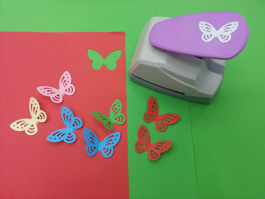 Buy free shipping new design butterfly for Craft punches for sale