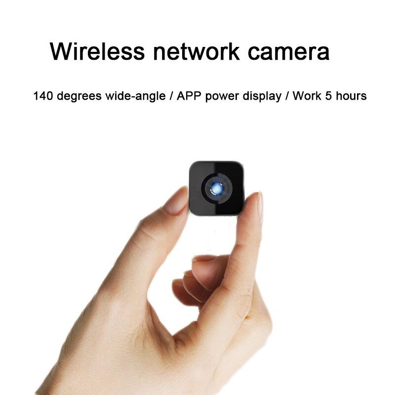 Top mini 1080P HD cámara de red webcam batería integrada WIFI soporte infrarrojo visión nocturna función TF tarjeta teléfono aplicación remota - 6