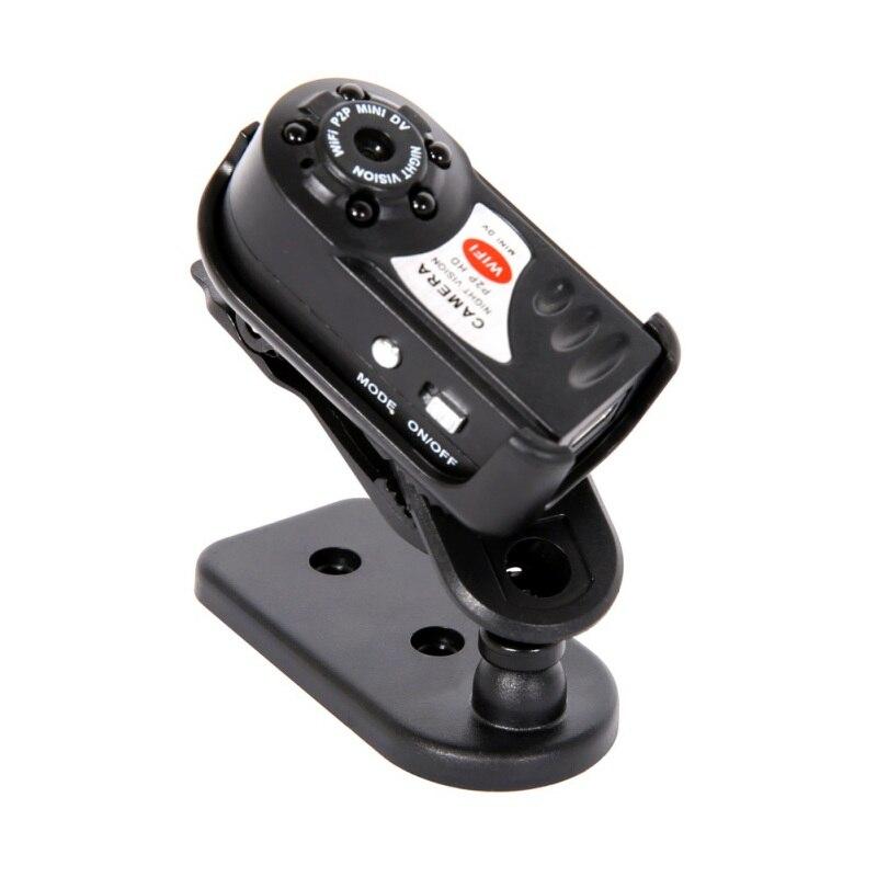 Mini câmera q7 480 p wifi dv