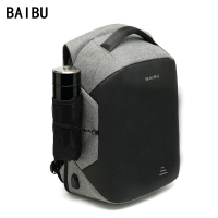 BAIBU Men Upgrade Multifunction Anti theft 15.6 Laptop Backpack USB Charging waterproof Business Large Travel Backpack