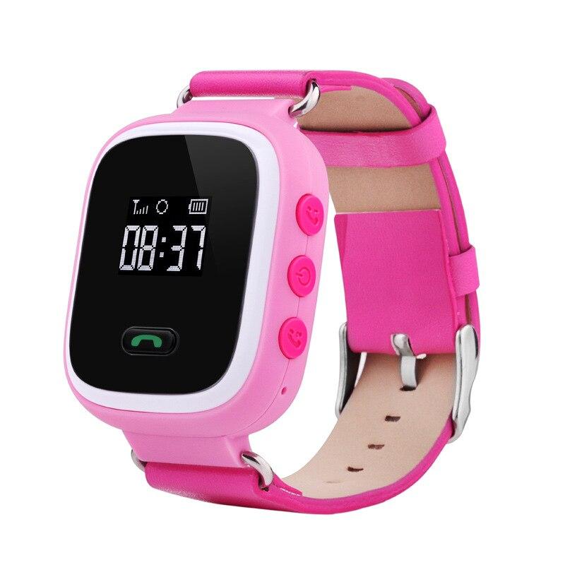 2016 d'origine Q60 GPS GSM GPRS Montre Smart Watch Pour Enfants Intelligente Localisateur Tracker Anti-Perdu À Distance Moniteur Montre Smart Watch