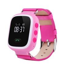 2016 Оригинальные Q60 GPS GSM GPRS Смарт-часы для детей интеллектуальные трекер анти-потерянный удаленной Мониторы Смарт-часы