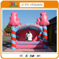 5*4*4.5mH  inflatable  candy house tent,inflatable advertising promotion  cube tent