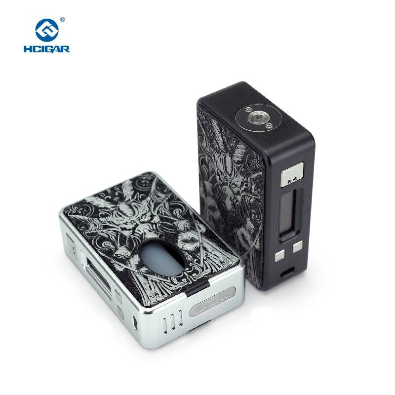 Hcigare VT inbox V3 squonk Mod boîte sortie 1-75 w vaporisateur Evolv DNA75 puce alimentée 18650 batterie elektronik sigara mod - 6