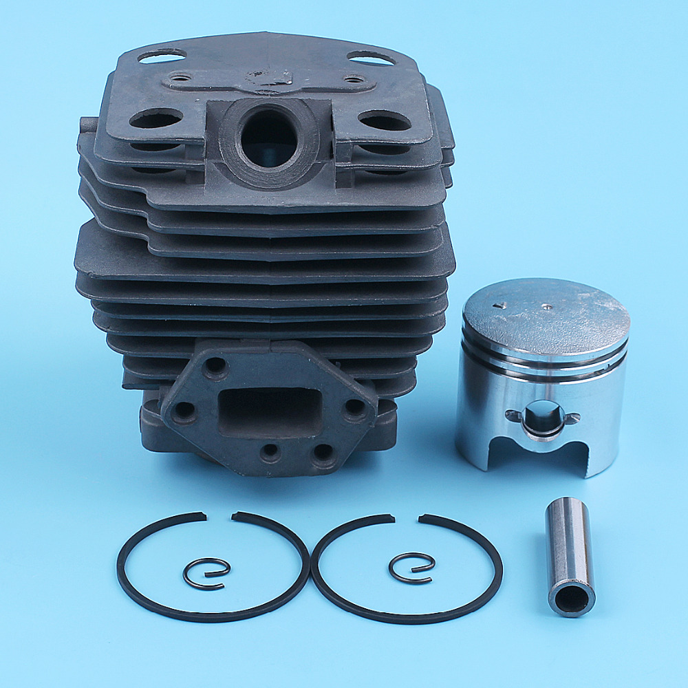 40mm Nikasil Plated Cylinder Piston Kit For Husqvarna 143R II 443R Brush Cutter Trimmer Strimmer Brushcutter Parts 505296901