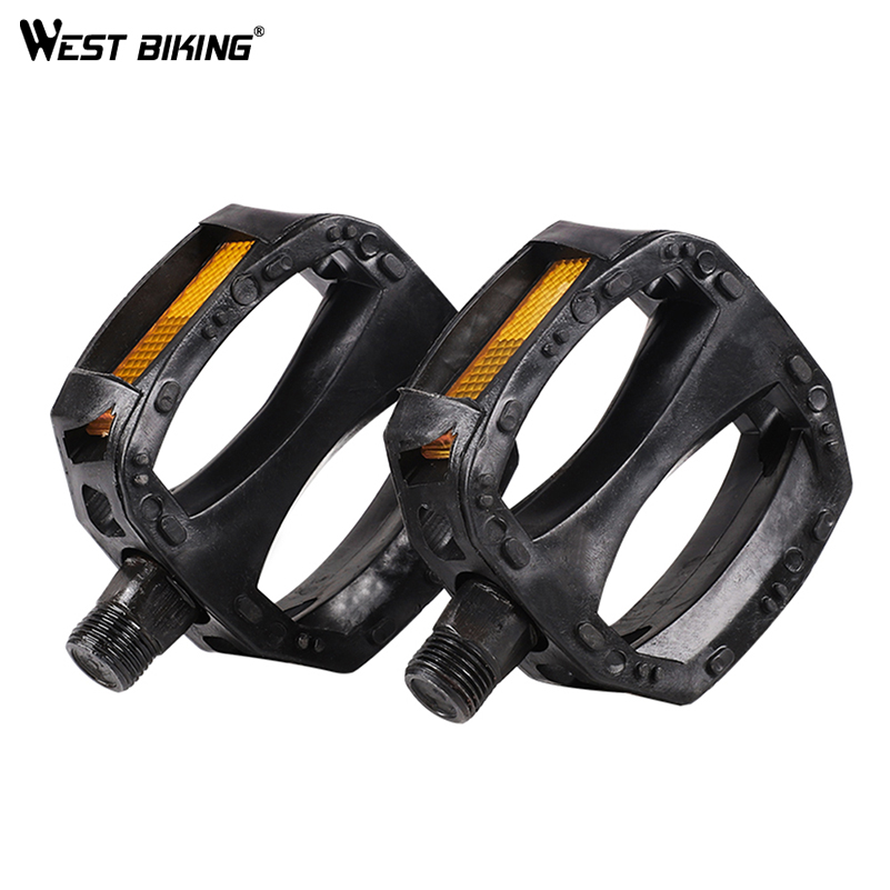 WEST BIKING Kids Bike Pedals Childers Bicycle 12MM Anti-slip Plastic Replacment Pedals Cycling Tool Trike Tricycle Bike Parts | Happy Baby Mama