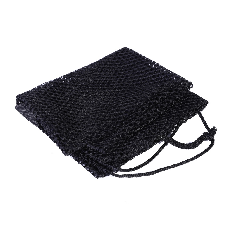 Quick Dry Polyester Mesh Bag  Swimming Diving Drawstring Bag Water Sports Packing Net Bags