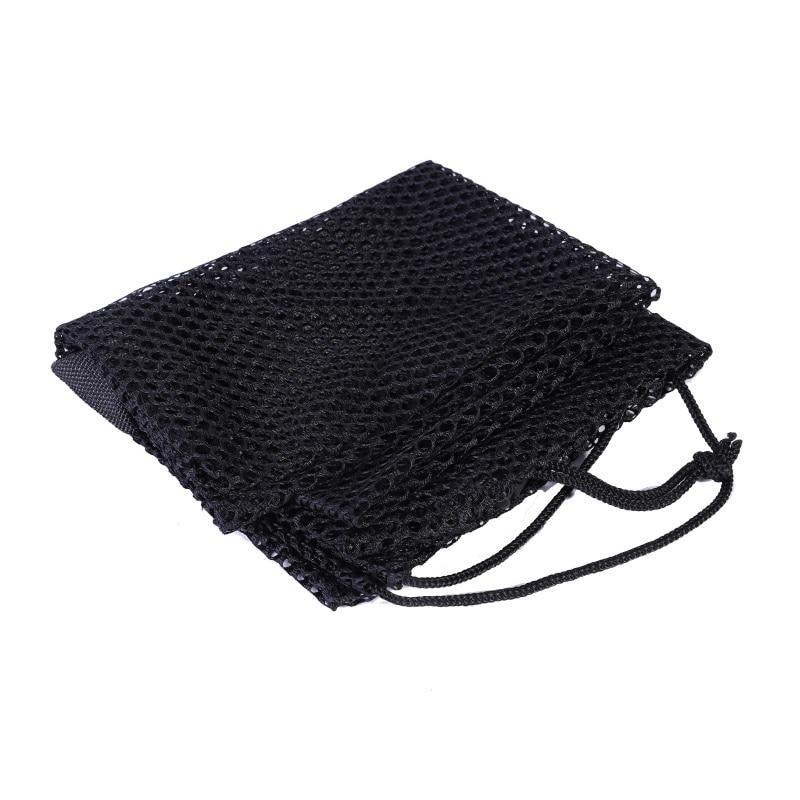 Quick Dry Polyester Mesh Bag  Swimming Diving Drawstring Bag Water Sports Packing Net Bags