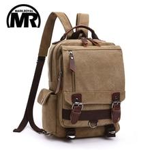 MARKROYAL Fashion Leisure Women Backpack Men Shoulder Bag Casual Canvas Mochila School Bags Rucksack For Teenage Girls
