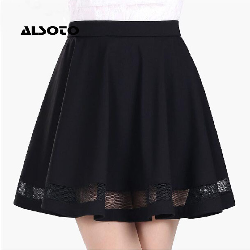 Women Summer School Skirt Midi Tutu Femme Womens Fashion Grid Design Faldas Mujer Moda Pleated Korean Skirts Womens Sexy Skirts
